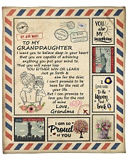 """Im So Proud Of You Grandma To Granddaughter Fleece Blanket - 50"""" x 60"""" front"""