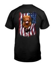 Ariege Pointer Flag Dogue de Bordeaux Classic T-Shirt back