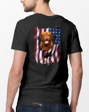 Ariege Pointer Flag Dogue de Bordeaux Classic T-Shirt lifestyle-mens-crewneck-back-5