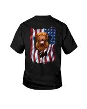 Ariege Pointer Flag Dogue de Bordeaux Youth T-Shirt thumbnail
