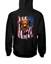 Ariege Pointer Flag Dogue de Bordeaux Hooded Sweatshirt thumbnail