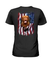 Ariege Pointer Flag Dogue de Bordeaux Ladies T-Shirt thumbnail
