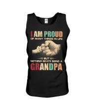 I am proud being a Granpa Unisex Tank thumbnail