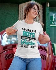 Mom Of Boys Less Drama Than Girls Ladies T-Shirt apparel-ladies-t-shirt-lifestyle-01