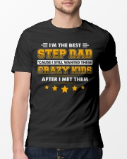 I'm The Best Step Dad Classic T-Shirt lifestyle-mens-crewneck-front-13