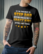 I'm The Best Step Dad Classic T-Shirt lifestyle-mens-crewneck-front-6