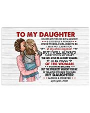 I Closed My Eyes For But A Moment Mom To Daughter Horizontal Poster tile
