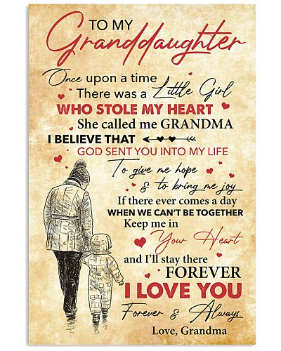To My Granddaughter I Love You Forever And Always