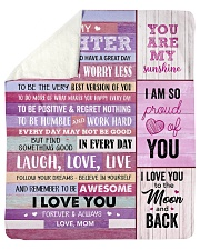 """You Are My Sunshine Mom To Daughter Sherpa Fleece Blanket - 50"""" x 60"""" thumbnail"""