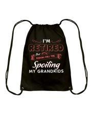 Working Full Time Spoiling My Grandkids Drawstring Bag thumbnail