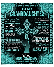 """I Am So Proud Of You The Cross GM To GD Fleece Blanket - 50"""" x 60"""" front"""