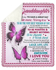 Today Is A Good Day Butterfly GM To GD Sherpa Fleece Blanket tile
