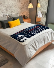 "My Only Love I Love You Forever And Always Sherpa Fleece Blanket - 50"" x 60"" aos-sherpa-fleece-blanket-lifestyle-front-01"