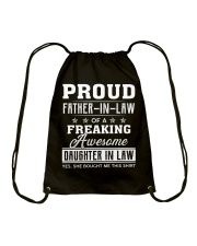 Proud Father-In-Law Drawstring Bag thumbnail