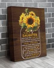 Never Forget That I Love U Dad To Daughter 11x14 Gallery Wrapped Canvas Prints aos-canvas-pgw-11x14-lifestyle-front-12