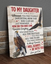Whenever U Find Yourself Dad To Daughter 11x14 Gallery Wrapped Canvas Prints aos-canvas-pgw-11x14-lifestyle-front-10