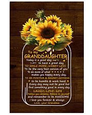Today Is A Good Day Grandma To Granddaughter 11x17 Poster thumbnail