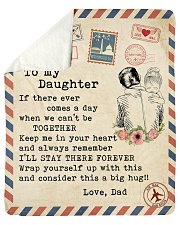 """If there ever comes a day Dad-to-Daughter Sherpa Fleece Blanket - 50"""" x 60"""" thumbnail"""