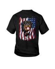 Rottweiler Flag Youth T-Shirt thumbnail