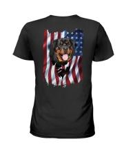 Rottweiler Flag Ladies T-Shirt thumbnail