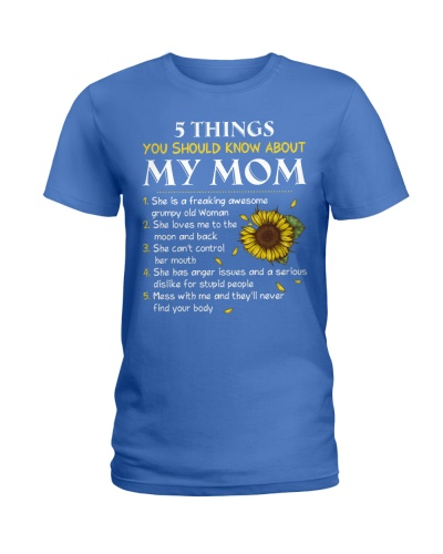 5 Things About My Mom Awesome Grumpy Old Woman