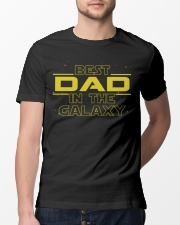 Best Dad in the galaxy Classic T-Shirt lifestyle-mens-crewneck-front-13