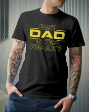 Best Dad in the galaxy Classic T-Shirt lifestyle-mens-crewneck-front-6