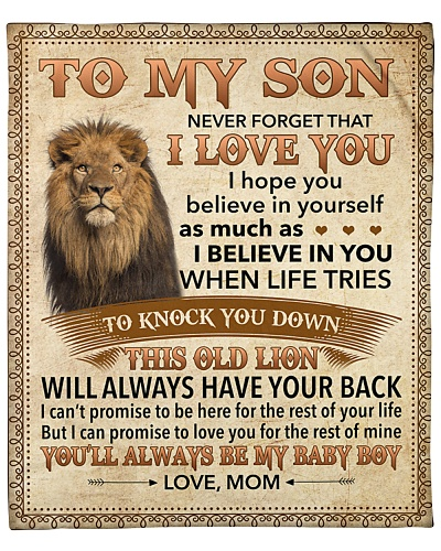 Never Forget That I Love You - Lion Mom To Son