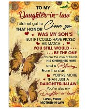 DIL Butterfly You're Also My Daughter-In-Heart 11x17 Poster front