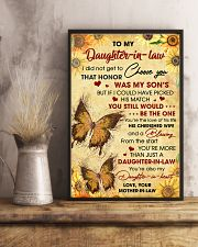 DIL Butterfly You're Also My Daughter-In-Heart 11x17 Poster lifestyle-poster-3