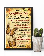 DIL Butterfly You're Also My Daughter-In-Heart 11x17 Poster lifestyle-poster-8