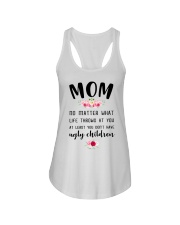 Mom no matter what funny Ladies Flowy Tank thumbnail
