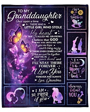 """Galaxy-Im So Proud Of You- Mom-To-Daughter Fleece Blanket - 50"""" x 60"""" front"""
