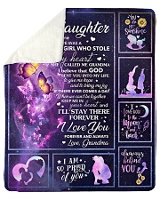 """Galaxy-Im So Proud Of You- Mom-To-Daughter Sherpa Fleece Blanket - 50"""" x 60"""" thumbnail"""