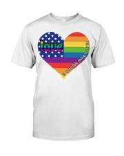 LGBT Love Is A Terrible Thing To Hate Classic T-Shirt thumbnail