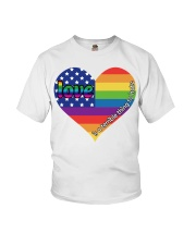 LGBT Love Is A Terrible Thing To Hate Youth T-Shirt thumbnail