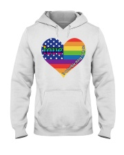LGBT Love Is A Terrible Thing To Hate Hooded Sweatshirt thumbnail