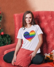 LGBT Love Is A Terrible Thing To Hate Ladies T-Shirt lifestyle-holiday-womenscrewneck-front-2
