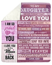 """You Are My Sunshine - Dad-To-Daughter Sherpa Fleece Blanket - 50"""" x 60"""" thumbnail"""