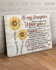 Never Forget That I Love You Mom To Daughter 20x16 Gallery Wrapped Canvas Prints aos-canvas-pgw-20x16-lifestyle-front-07