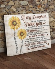 Never Forget That I Love You Mom To Daughter 20x16 Gallery Wrapped Canvas Prints aos-canvas-pgw-20x16-lifestyle-front-21