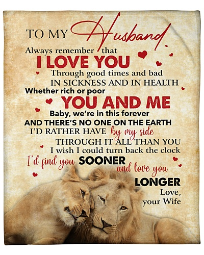 To My Husband ALways Remember That I Love You