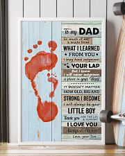 Dad Thanks For The Love Support I Love You Forever 11x17 Poster lifestyle-poster-4