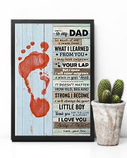 Dad Thanks For The Love Support I Love You Forever 11x17 Poster lifestyle-poster-8