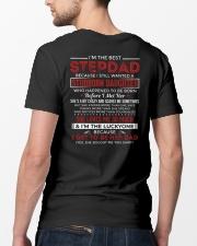 I'm The Best Stepdad Classic T-Shirt lifestyle-mens-crewneck-back-5