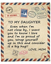 """I Am So Proud Of You Mom To Daughter Fleece Blanket - 50"""" x 60"""" front"""