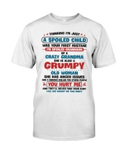 I'm Spoiled Grandson Of A Crazy Grandma Premium Fit Mens Tee thumbnail