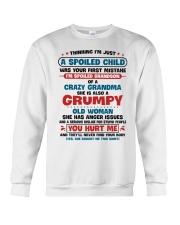 I'm Spoiled Grandson Of A Crazy Grandma Crewneck Sweatshirt thumbnail