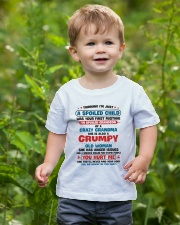 I'm Spoiled Grandson Of A Crazy Grandma Youth T-Shirt lifestyle-youth-tshirt-front-3