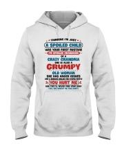 I'm Spoiled Grandson Of A Crazy Grandma Hooded Sweatshirt thumbnail